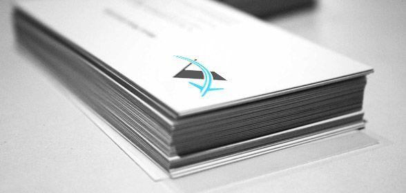 Tarjetas de Visita diseño Aleben Telecom