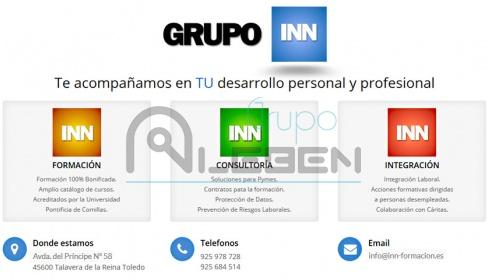 Mejoras SEO para cliente GRUPO INN. INN FORMACIÓN