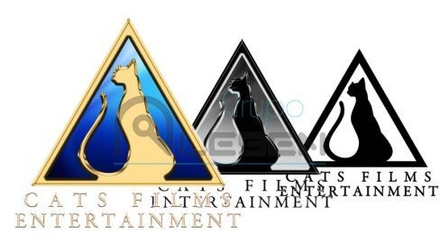 Diseño Logo Corporativo de Cats Films Entertainment