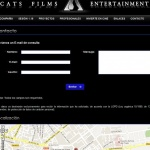 Desarrollo WEB Productora CATS FILMS ENTERTAINMENT