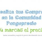 Proyecto Web Social Pongoprecio.com