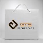Diseño Logo Corporativo Empresa GTS Sports Cars