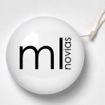 Diseño Logotipo Corporativo para Tienda ML Novias