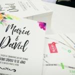 Tarjetas Invitaciones de Boda en A5
