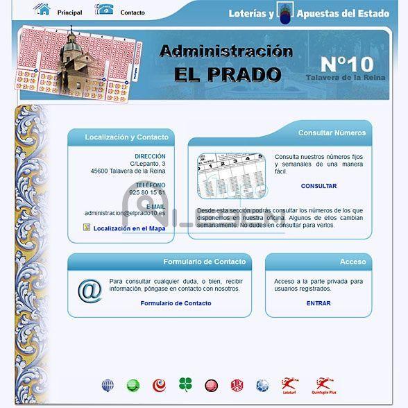 Aplicación WEB Dinámica Administración El Prado 10