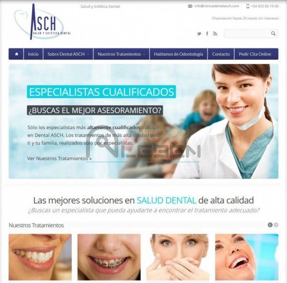 Desarrollo Sitio Web DINÁMICO Clínica Dental ASCH