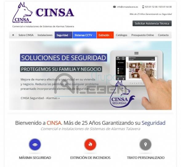 Desarrollo WEB Dinámica CINSA Talavera