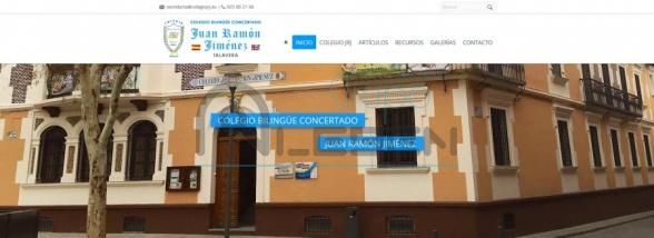 PÁGINA WEB DINÁMICA COLEGIO JUAN RAMÓN JIMÉNEZ