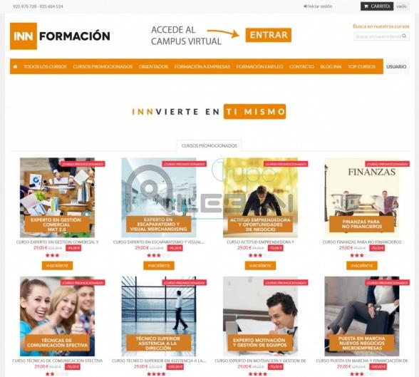 Tienda Cursos Online y Blog INN FORMACIÓN