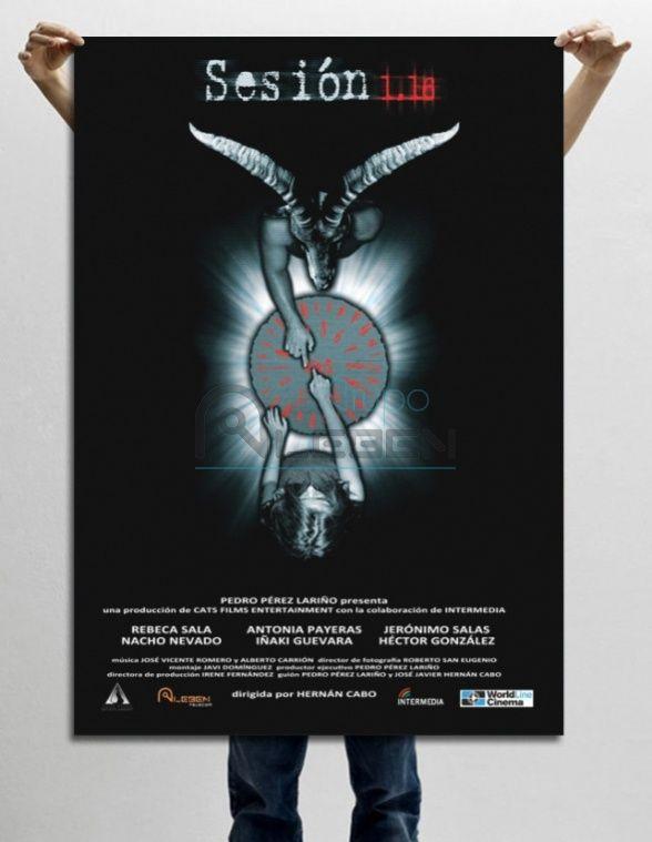Cartel de la Película de Terror 'Sesión 1.16'