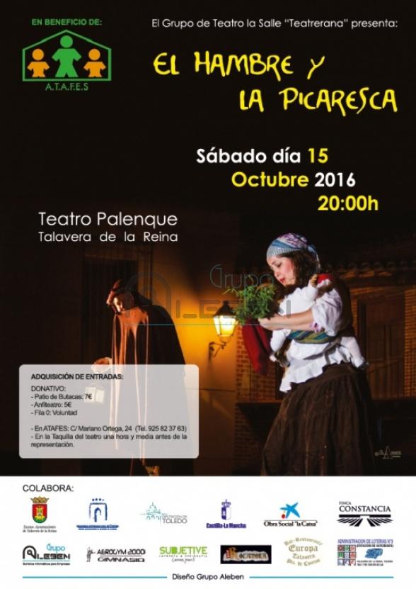 Cartel Teatro en Beneficio de ATAFES