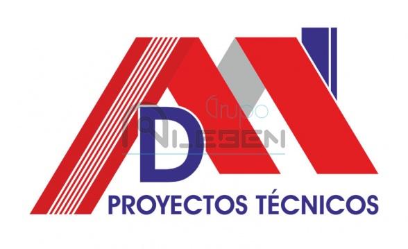 Diseño Logo Corporativo Empresa DM Proyectos Técnicos