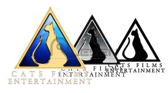 Diseño Logo Corporativo de Cats Films Entertainment
