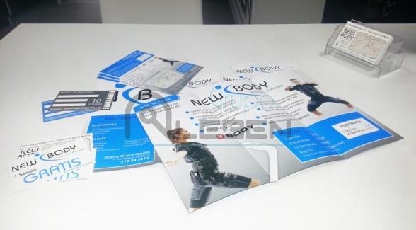 Nueva Imagen Corporativa New Body Electrofitness