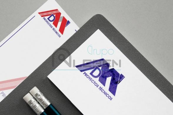 Nueva Imagen Corporativa para DM Proyectos Técnicos
