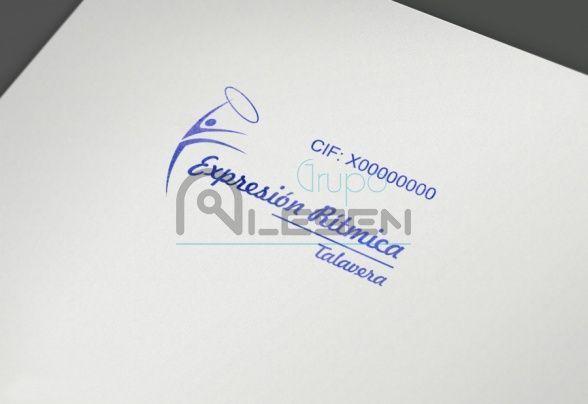 Papelería Corporativa C.D.E. Expresión Rítmica Talavera
