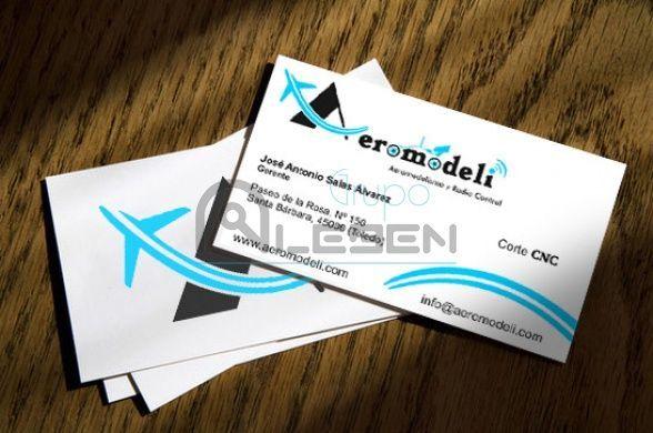 Papelería Corporativa para Aeromodeli