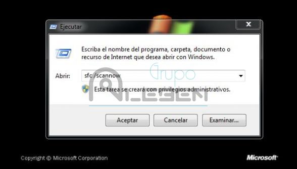 Reparar Archivos Sistema Dañados - Windows XP y Windows 7- SFC