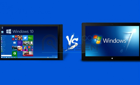 WINDOWS 7 LIDERA SOBRE WINDOWS 10